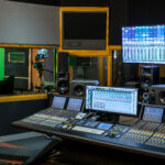 The Control Room at Matrix Digital, featuring the Euphonix System 5 MC.